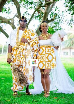 African Attire, African Fashion Dresses, African Dress, African Life, African Art, African Traditional Wedding, Ivoire, Here Comes The Bride, Weeding