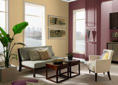 This is the project I created on Behr.com. I used these colors: RYE(310F-4),CHOCOLATE CURL(220F-6),CHIANTI(S-H-150),MANNEQUIN CREAM(OR-W3),