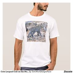 Cute Leopard Cub on the Move T-Shirt