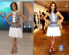 Fátima brinca sobre look idêntico ao de Bruna Marquezine: 'Pose está igual' ♥