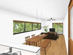 家具の配置で、居心地の良さが変わる!リビング・ダイニング...|Re:CENO Mag Conference Room, Table, Furniture, Home Decor, Decoration Home, Room Decor, Tables, Home Furnishings, Home Interior Design