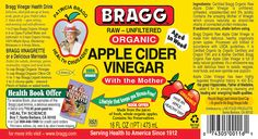 Research worldwide supports and commends what Hippocrates found and treated his patients with in 400 B.C. He discovered that natural, undistilled Apple Cider Vinegar (or ACV)* is a powerful cleansing and healing elixir – a naturally occurring antibiotic and antiseptic that fights germs and bacteria – for a healthier, stronger,...More