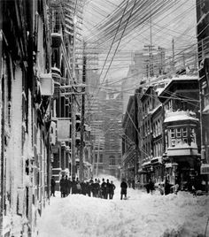 Brown Brothers, New York, the blizzard of 1888