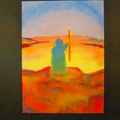 4th grade -Moses. What I painted with them.