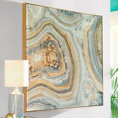 "Marble Wall Art - 36"" Sq. - Grandin Road"