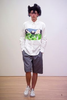 コム デ ギャルソン2016SS コレクション Gallery19