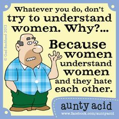My husband Walt speaks some sense occasionally...  There's limited stock left on our brand new first ever Aunty Acid 2014 Calendar!