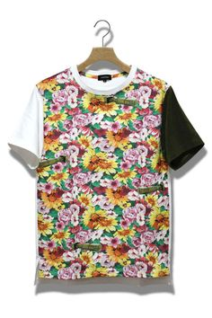LITTLE BOY FLOWER print T shirt | ArchiTailor