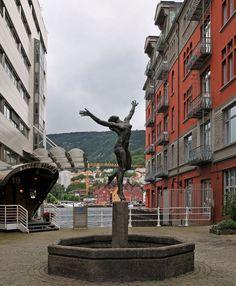 Strandsiden, Bergen, Noruega