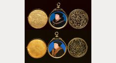 Hans Holbein the Younger, Two portraits of Thomas Cromwell, Earl of Essex by Hans Holbein the Younger, 1532 - 1540