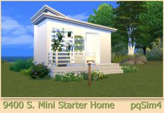9400 S Mini Starter Home at pqSims4