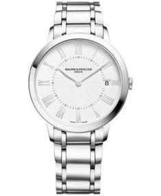 Baume & Mercier Women's Swiss Classima Stainless Steel Bracelet Watch