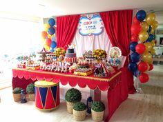 Studio Decor Eventos: Festa Circo Vintage