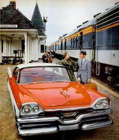 1957 Dodge at the Depot in Charlevoix, MI, Photo by Captain Geoffrey Spaulding