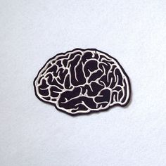 Brain Patch Embroidery | @giftryapp