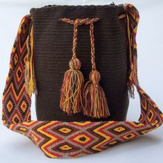 Crafts Making Poms Best Crochet Images Purses Wayuu 52 Pom wtYp1p