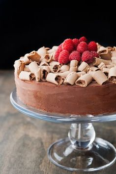 the concorde chocolate meringue mousse cake recipe | use real butter