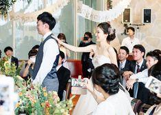 結婚式当日に仕掛けたい!【花嫁から新郎へのサプライズ】5選 | marry[マリー]