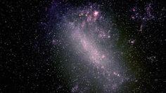 La Gran Nube de Magallanes, la más brillante de las galáxias satélite de la Vía Láctea                                                                                                                                                                                 Más