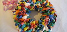 Ballonnenkrans - Creatief en Simpel, samen knutselen - Download de gratis werkbeschrijving op onze site