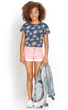 Junior Girls clothing, kids clothes, kids clothing | Forever 21 I would change the hair and glasses