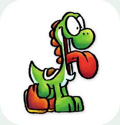 Yodie by TheBourgyman on DeviantArt Garfield Cartoon, Jim Davis, Can't Stop Laughing, Yoshi, Bowser, Fan Art, Deviantart