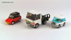 JANGBRiCKS LEGO reviews & MOCs: LEGO small vehicle MOCs 9/25/2013