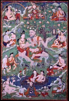 Indian Adept (siddha) - Saraha (HimalayanArt)