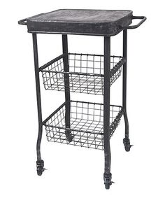 Take a look at this Rolling Cart by Wilco on #zulily today!