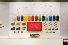 Interactive Retail Experience in Tesla Showrooms