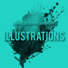 Startled Squid Illustrations Album Cover for Pinterest www.startledsquid.com