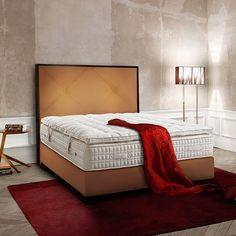 Treca Interiors Platinum Ligne Paris boxspring Queen Size Bedding, Paris, Bedroom, Furniture, Design, Home Decor, Montmartre Paris, Decoration Home, Tall Bed