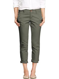 "olive boyfriend skinny khakis If you can order ""skinny khakis,"" why can't you order ""skinny thighs""?   I'm just sayin' . . ."