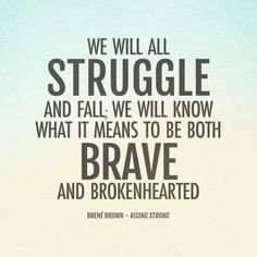"""Brené Brown's new book """"Rising Strong"""" is out today! Read an excerpt here..."""