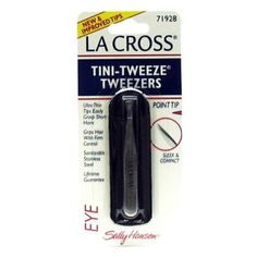 La Cross by Sally Hansen TiniTweeze Tweezers Point Tip  71928  3 Tweezers ** Click on the image for additional details. (It is an affiliate link and I receive commission through sales)