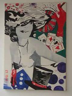 Acrílica e aquarela sobre tela 2008