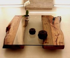 30 Extraordinary Coffee Table Design Ideas - Page 9 of 33 Cool Coffee Tables, Coffe Table, Decorating Coffee Tables, Coffee Table Design, Modern Coffee Tables, Rustic Wood Coffee Table, Table Design Bois, Wooden Tables, Rustic Furniture