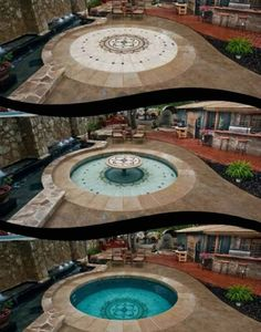 The maintenance cost of hidden water pool (HWP) tends to be much lower than a traditional swimming pool. Learn the maintenance cost associated with HWP. Hidden Water Pool, Piscina Interior, Dream Pools, Cool Pools, Pool Houses, Pool Designs, Outdoor Pool, My Dream Home, Exterior Design