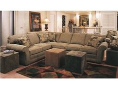 Shop For Smith Brothers Sectional, 658 Sectional, And Other Living Room  Sectionals At