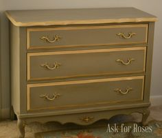 Before & After: French Linen   Stylish Patina