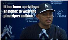 Mariano Rivera - NY Yankees, announces 2013 will be his last season :'-(