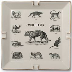 #Wild #beasts by #Izola #Home #Decor #VivirBonito Visíta nuestra página www.juliana.mx
