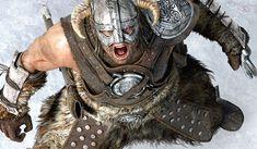 El videojuego de Skyrim tiene como protagonista a Dovahkiin (Sangre de Dragón), un guerrero nórdico con armadura de pieles y hierro, que tendrá que enfrentarse a un peligroso dragón.