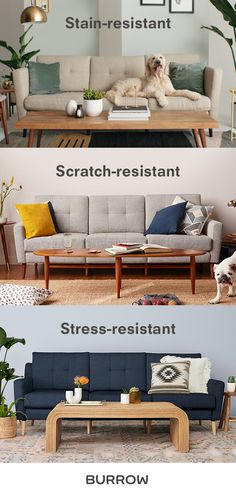 Shop sofas made for real life now.