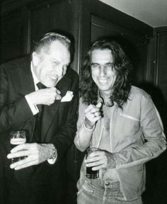 Vincent Price and Alice Cooper - Grande Ballroom, Detroit
