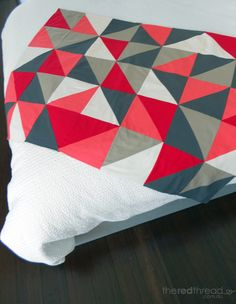 MAKING :: A Lap Quilt | the red thread :: create, inspire, share