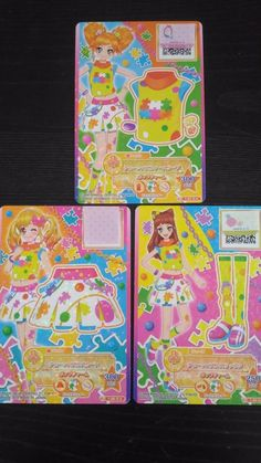 "Trading card of Japanese Animation ""AIKATSU STARS"" chain puzzle coorde 14(PROMO)"