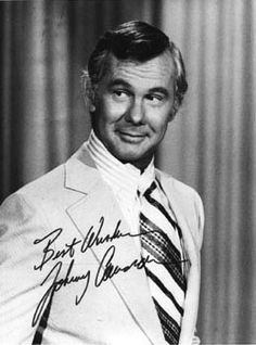 Johnny Carson - The Tonight Show - It hasn't been the same since he left the show. I don't even watch it anymore.