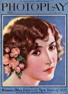 Silent Movie Magazine - Photoplay - March 1925 - Bessie Love