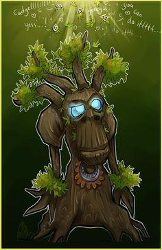 Commission:+Treant+chibi+by+liea.deviantart.com+on+@DeviantArt